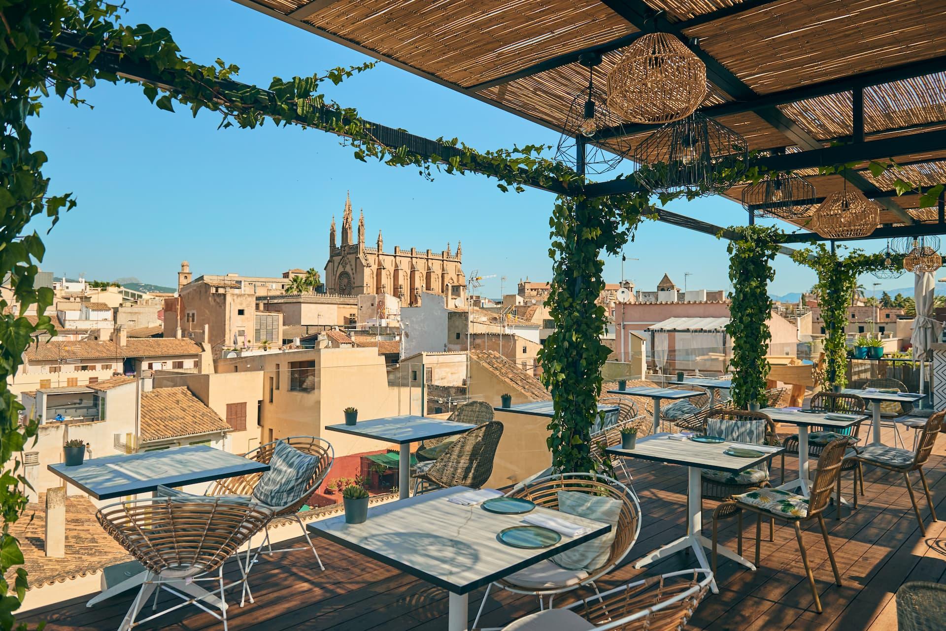la mejor terraza de Palma